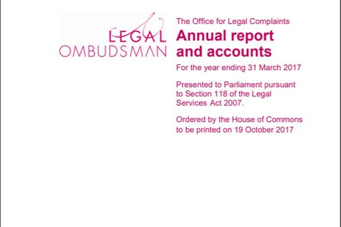 OLC and Legal Ombudsman Annual Report published