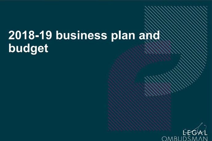 Our final 2018-19 Business Plan and Budget